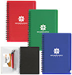 Spiral Notebooks With Pouch